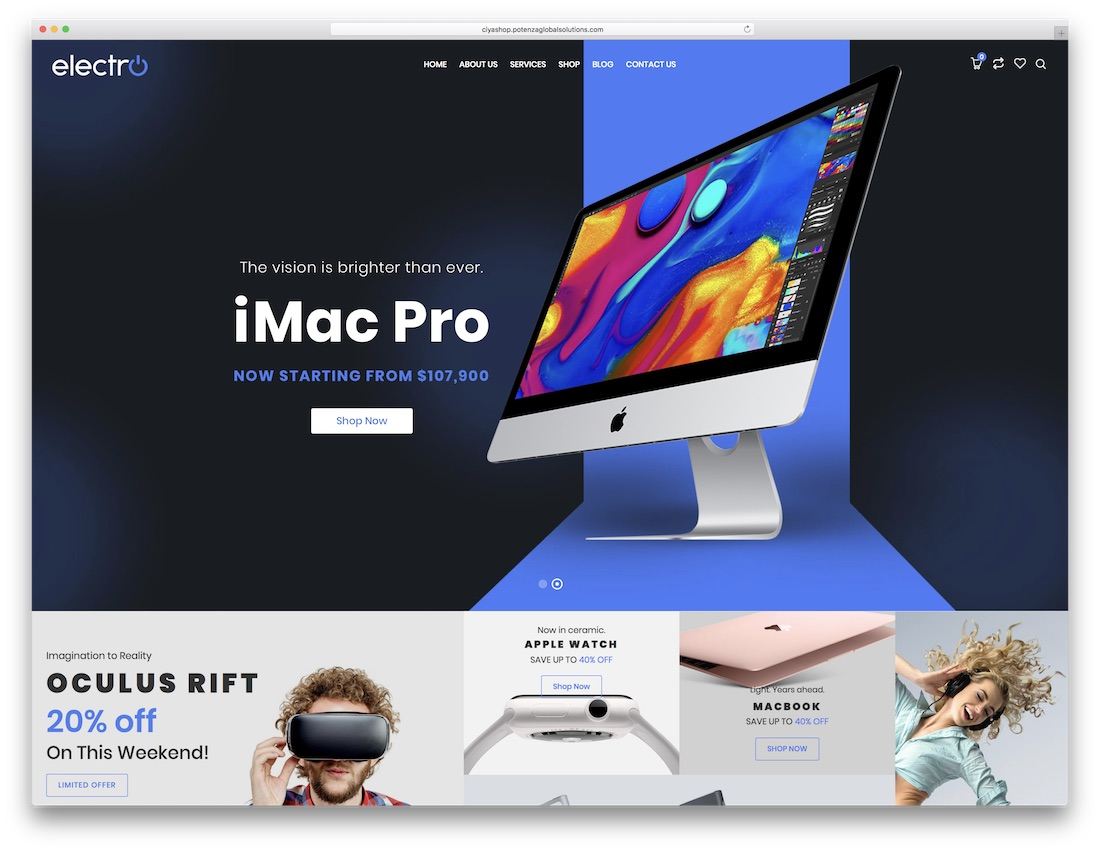 ciyashop technology woocommerce theme
