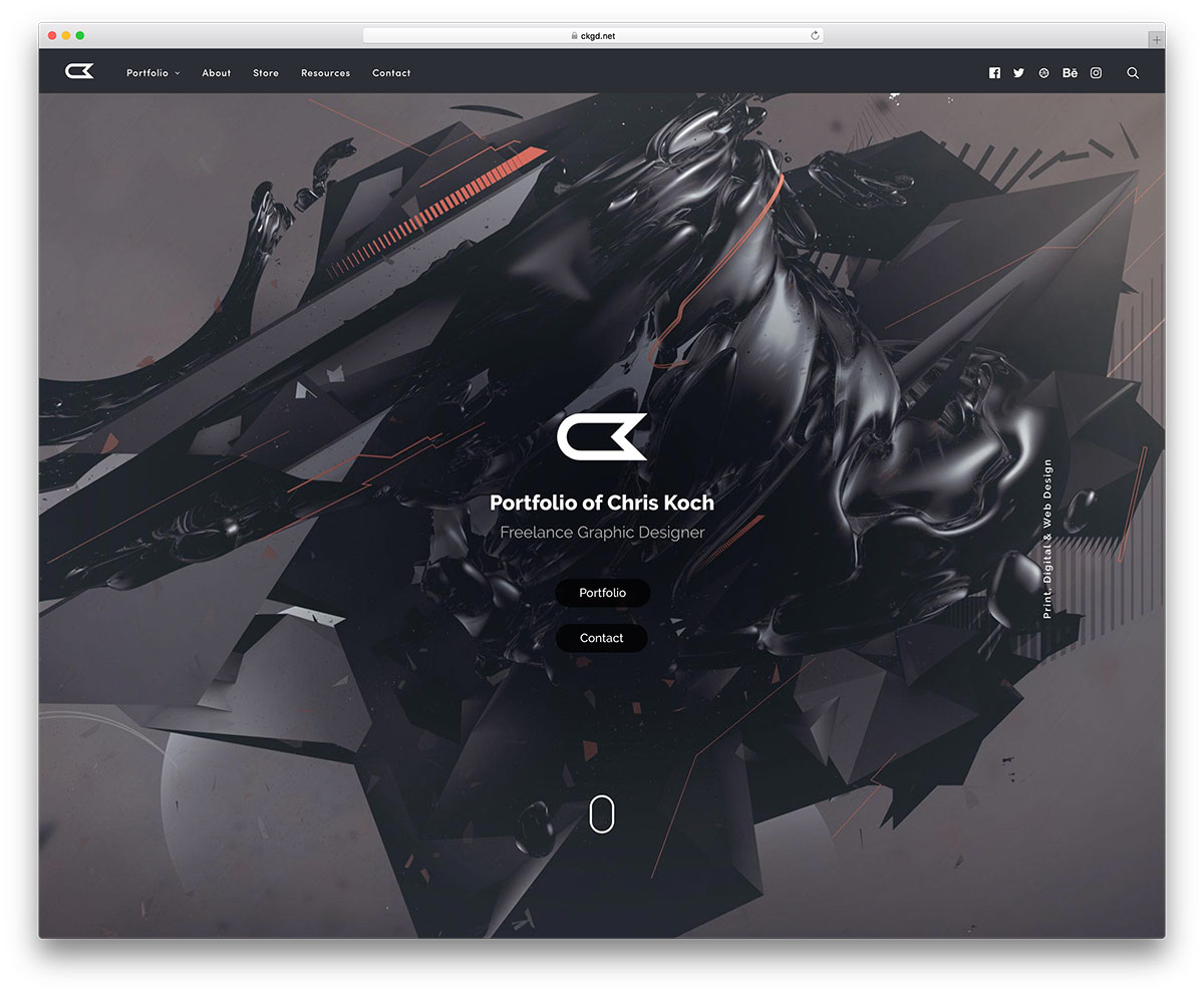 ckgd-freelance-graphic-designer-site-example