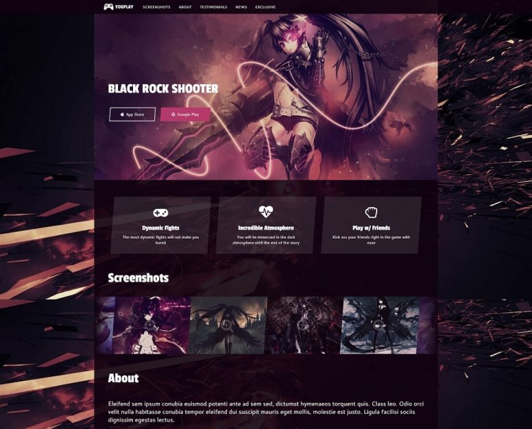 Clan Website Templates