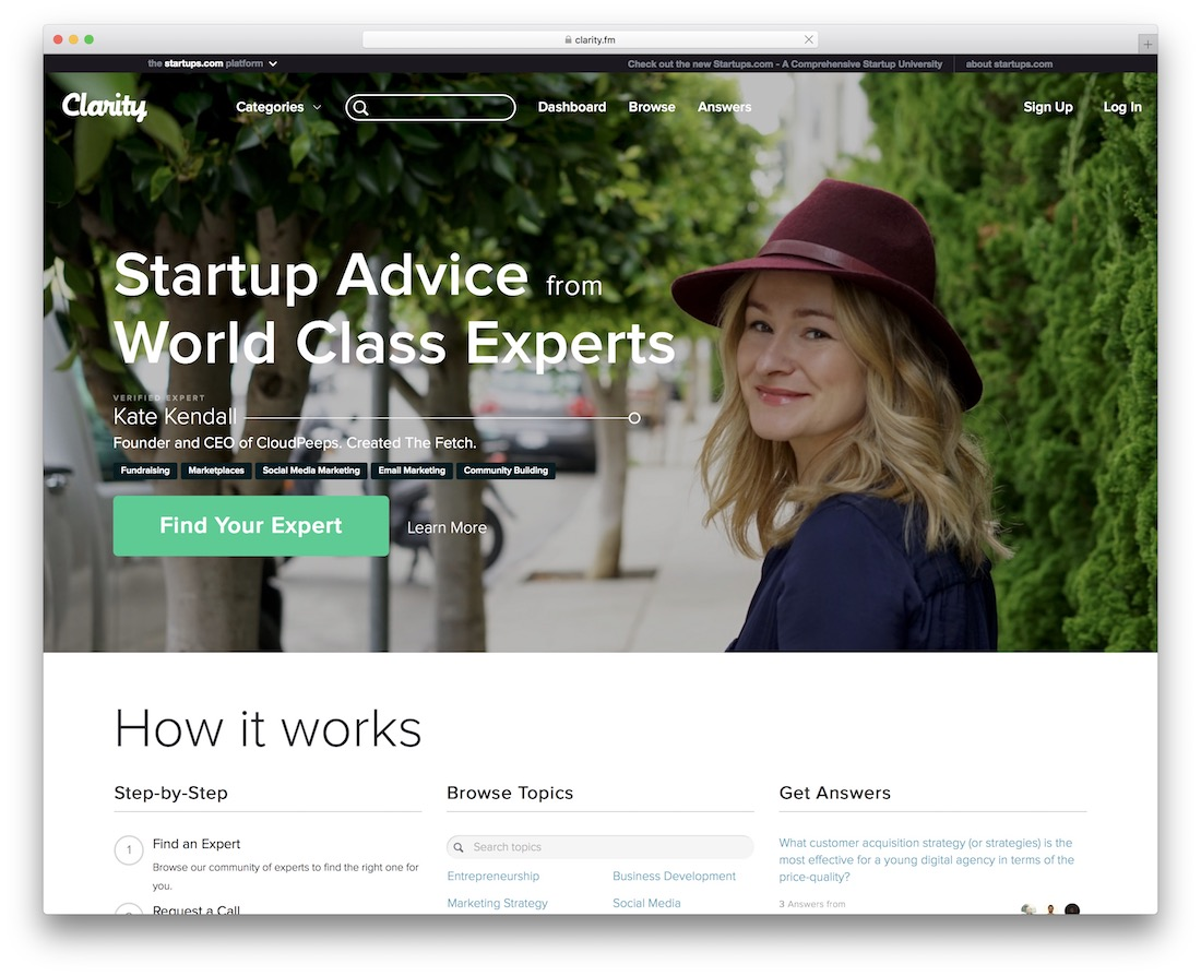 clarity freelance marketplace