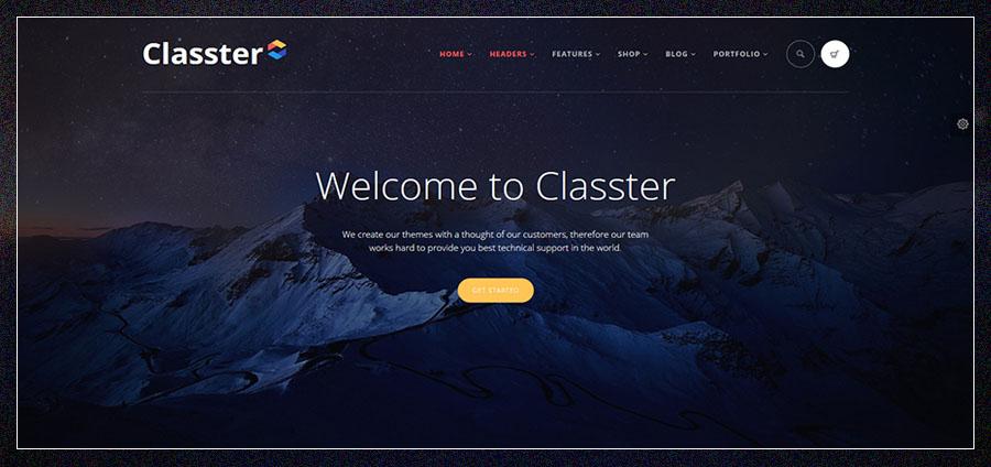 Classter | Multi-Purpose WordPress Theme