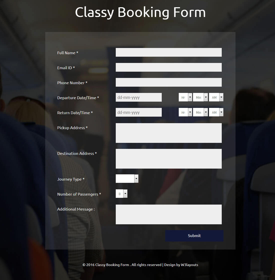 classy-booking-form