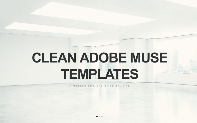 Top 15 Clean Adobe Muse Website Templates 2017