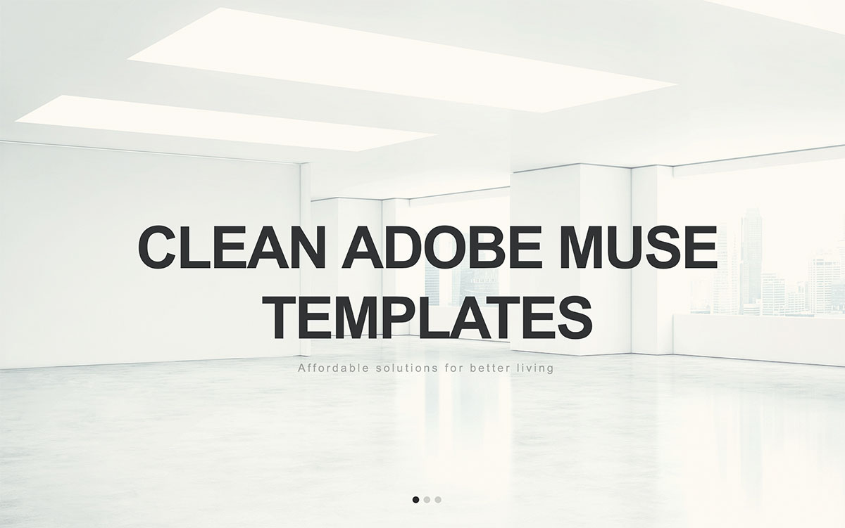 Top 15 Clean Adobe Muse Website Templates 2017 - Colorlib