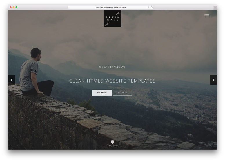 Top 18 Clean HTML5/CSS3 Website Templates With Minimalist Design Yet Powerful Core 2017