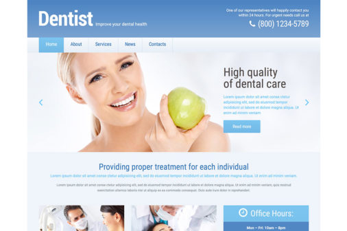 Clean Medical Wordpress Themes