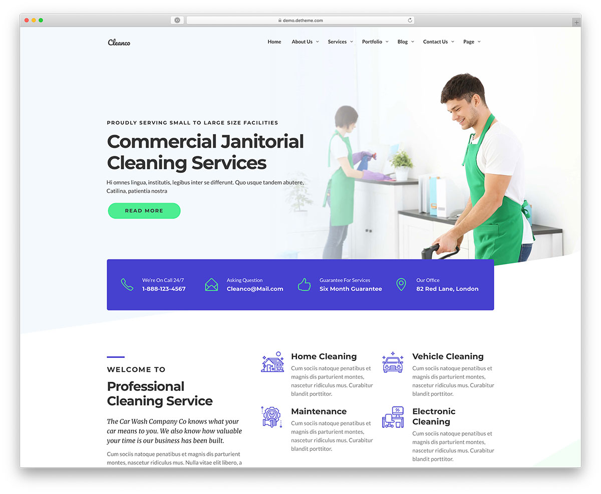lovely commercial cleaning services price list template.html