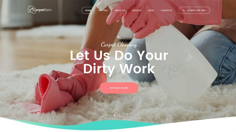 15 Best Cleaning Company WordPress Themes 2018
