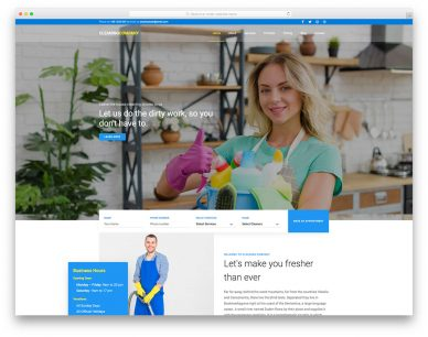 Cleaning Company Free Template