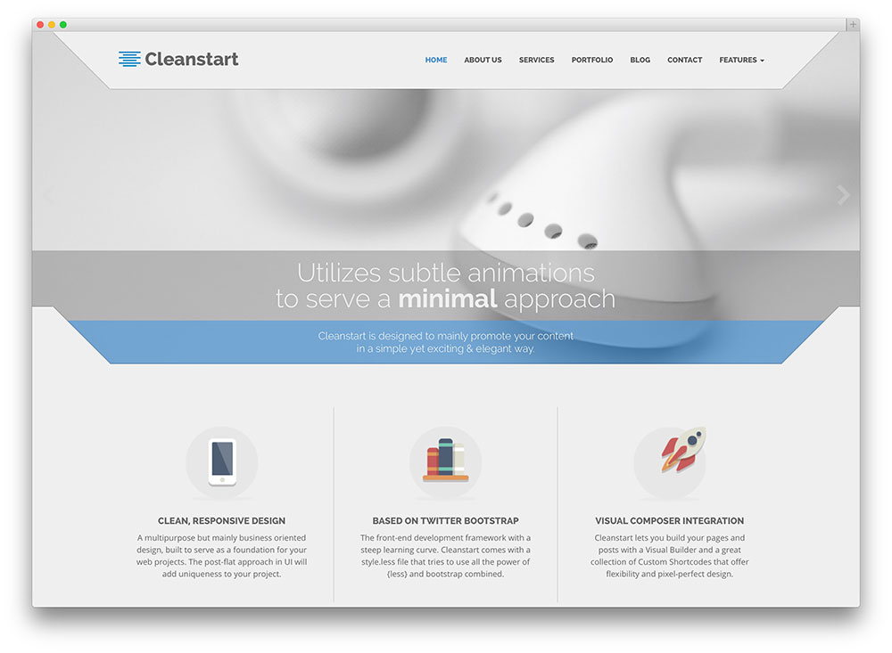 cleanstart expressive finance business theme