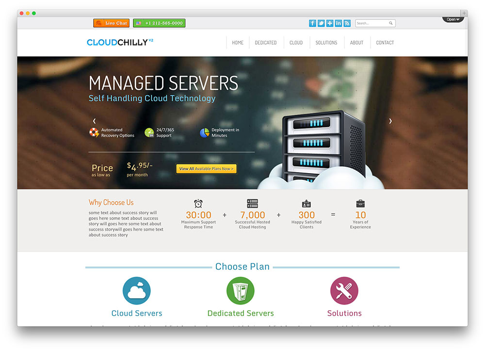 20+ Best Hosting WordPress Themes with Full WHMCS Manager ...