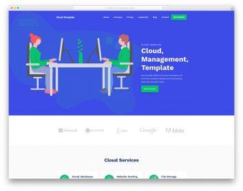 Cloudtemplate Free Template
