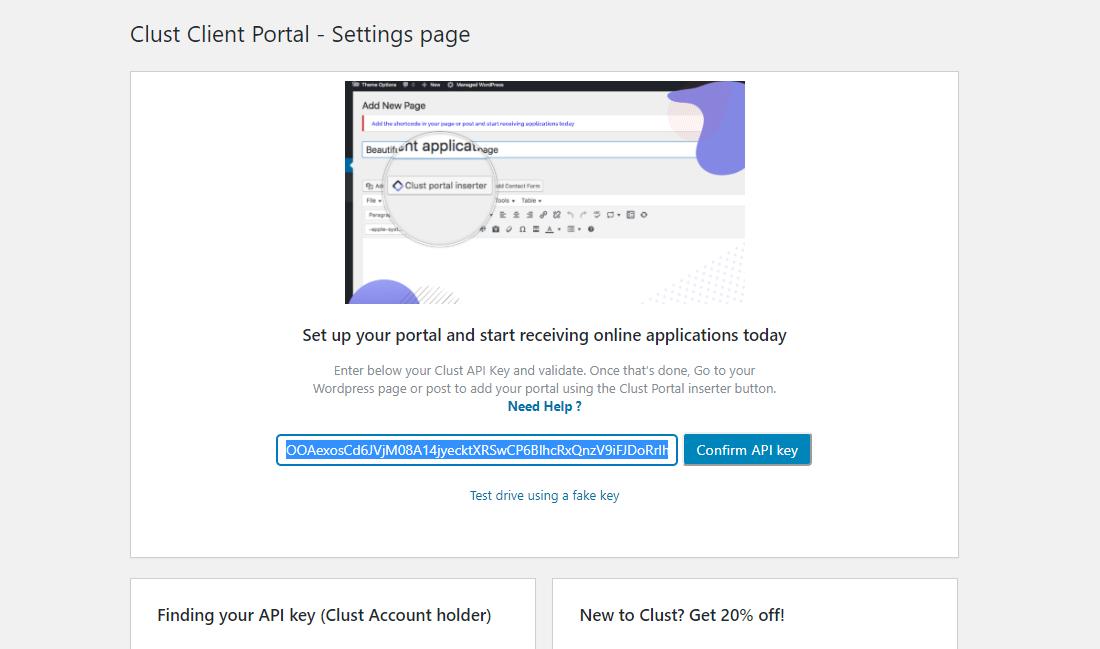 Organized WordPress Client Portal Plugin