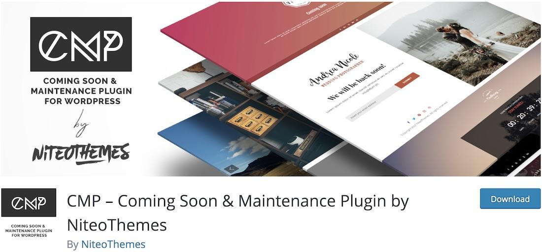 cmp coming soon maintenance