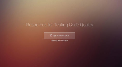 Code Quality Testing Tools