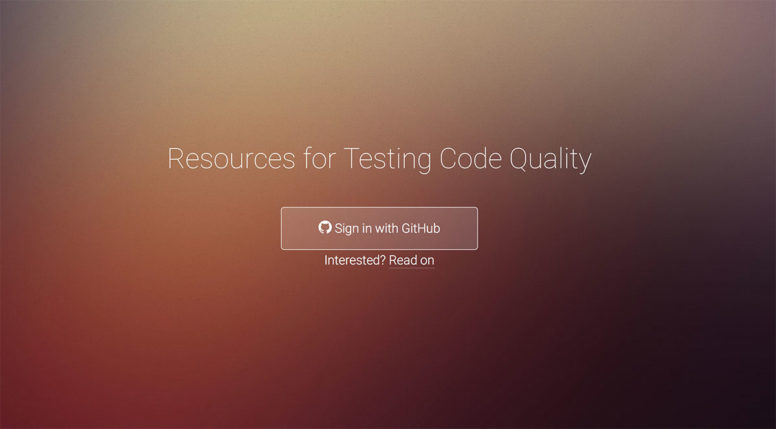 25 Free Resources For Testing Code Quality Online 2017