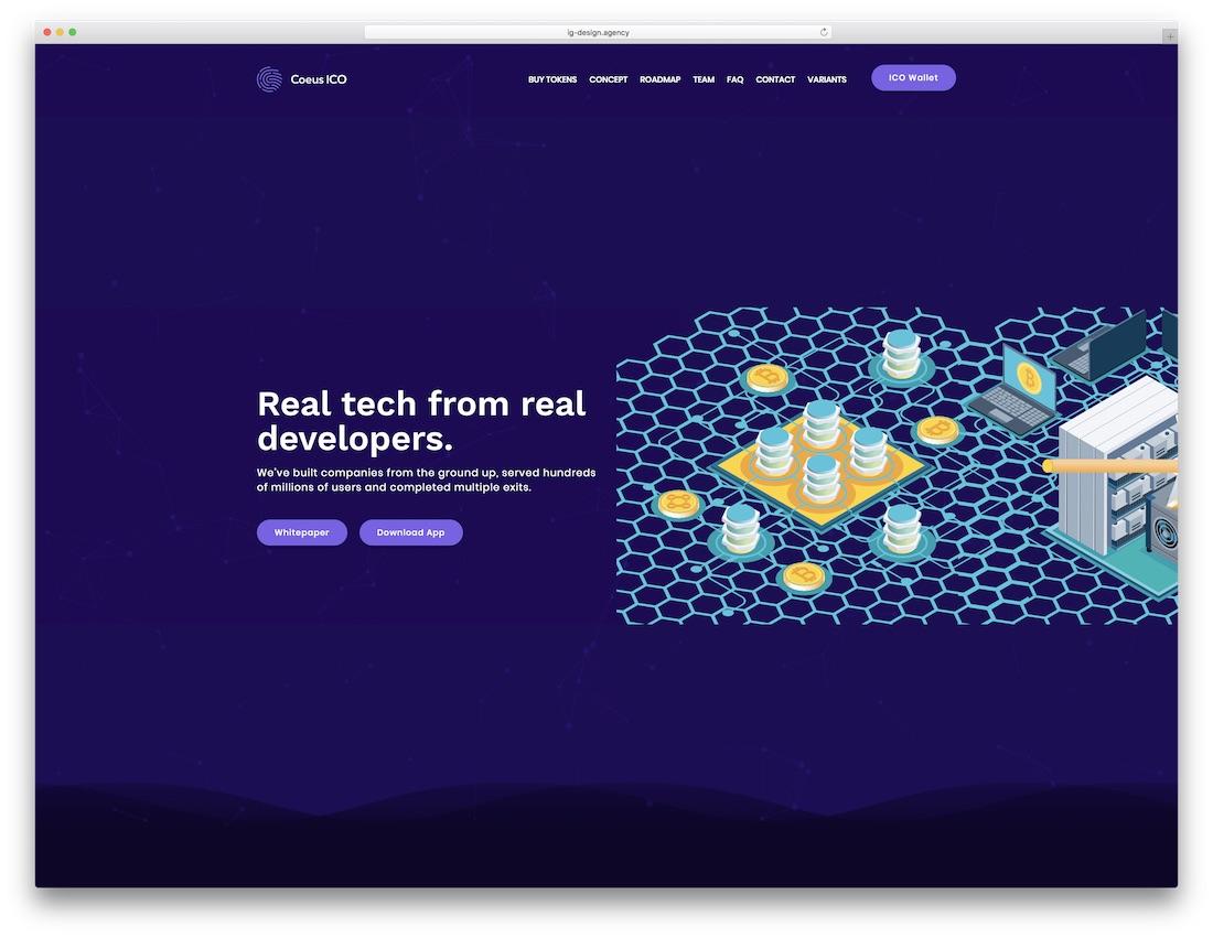 30 Minimal Html5 Css3 Parallax Website Templates 2018 Colorlib