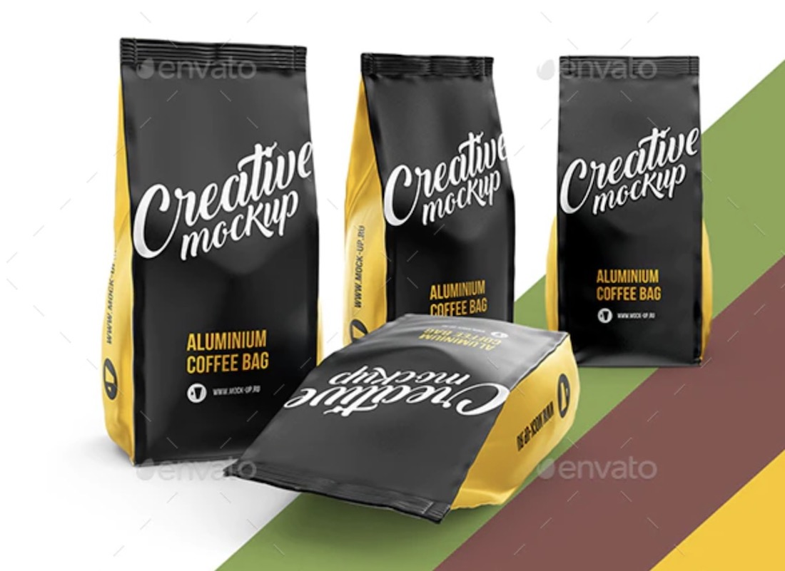 24 Best Coffee Bag Mockup Templates 2020 Colorlib