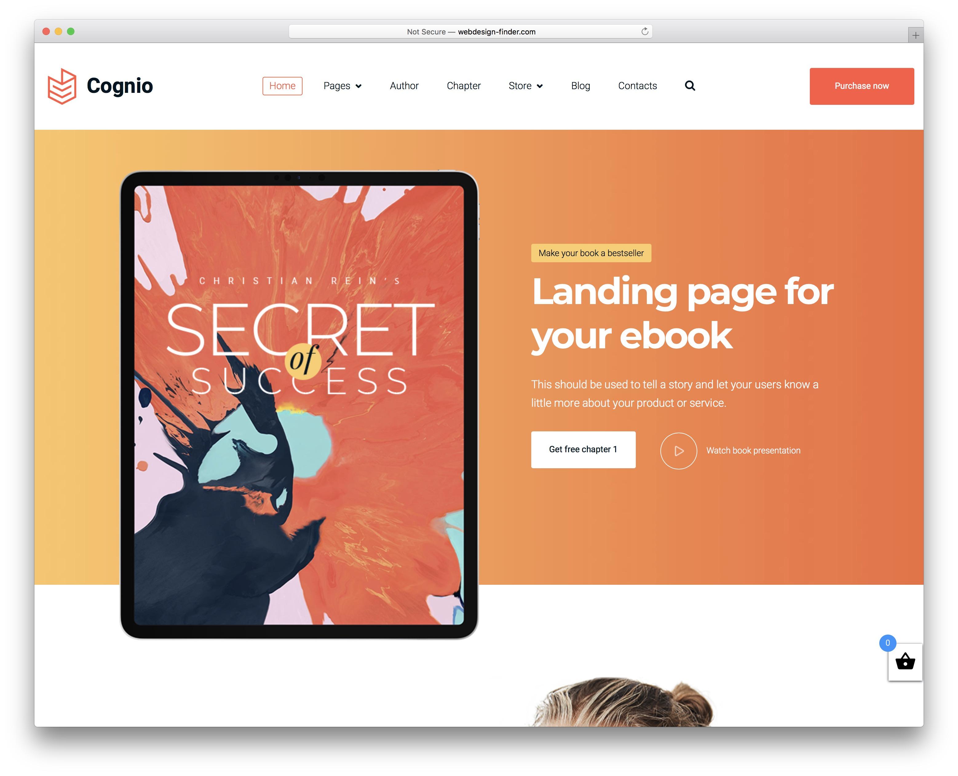 cognio ebook wordpress theme