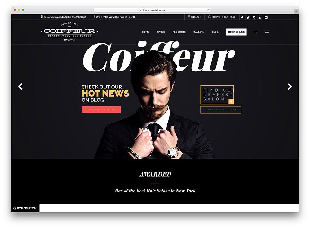 coiffeur-hair-salon-barber-wordpress-theme