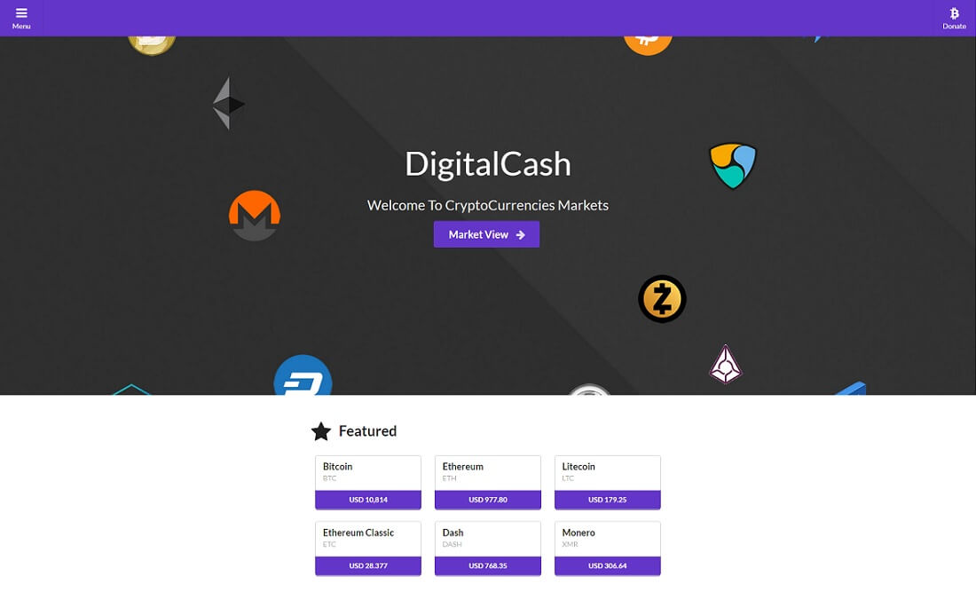 coin table cryptocurrency wordpress plugin