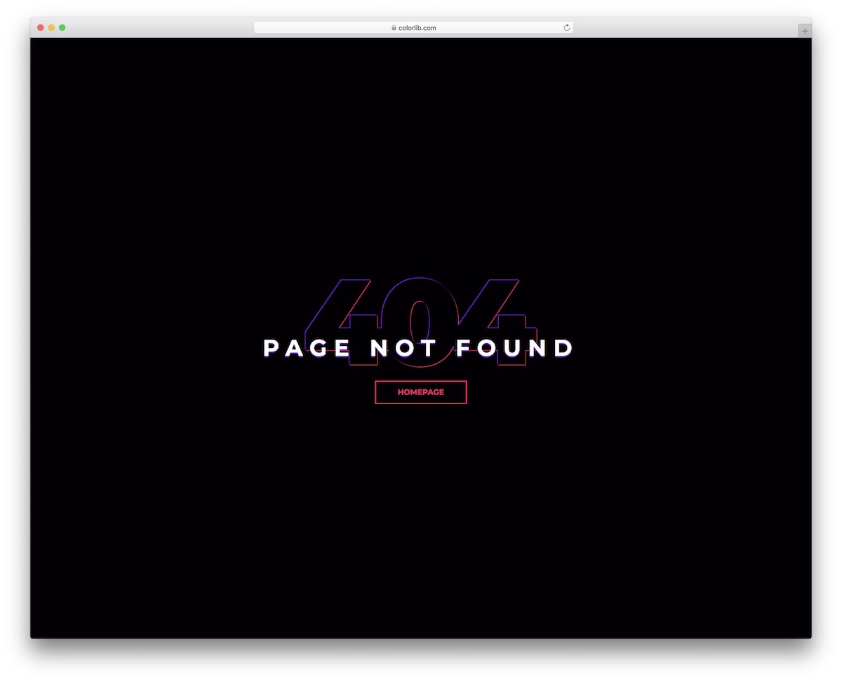 colorlib error 404 6