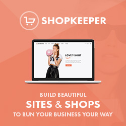 Shopkeeper theme by Get Bowtied
