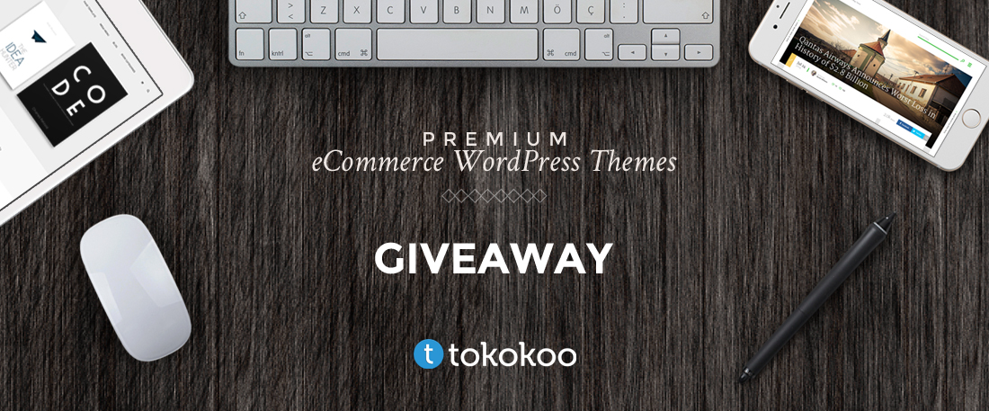[Giveaway] We Are Giving Away 3 Premium WordPress Themes From Tokokoo [CLOSED]