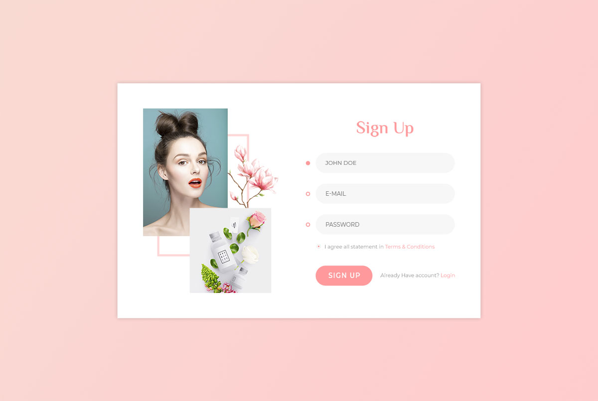 66 Best Free Bootstrap Registration Forms For All Sites 2019 - Colorlib