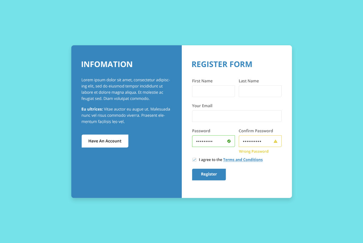 66 Best Free Bootstrap Registration Forms For All Sites 2019 Colorlib