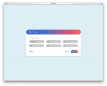 Colorlib Search Form 10