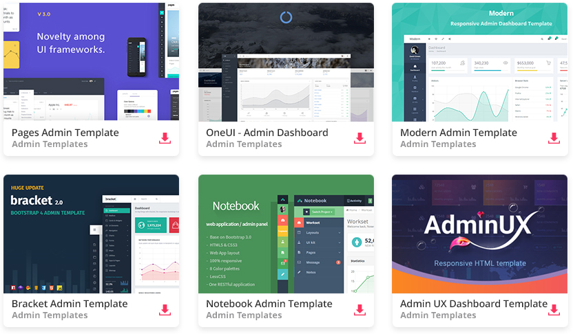 Top 32 Free Responsive HTML5 Admin Dashboard Templates 2018 Colorlib
