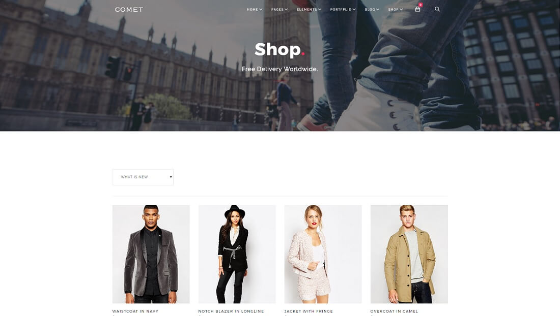 comet drupal commerce template