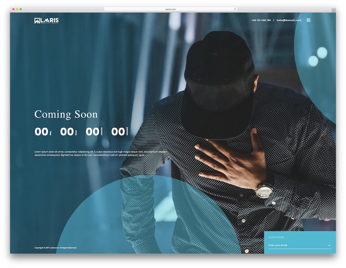 coming soon 16 website template