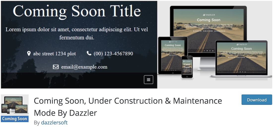 coming soon wp wordpress maintenance plugin