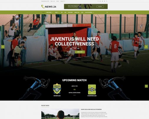 Community Website Templates