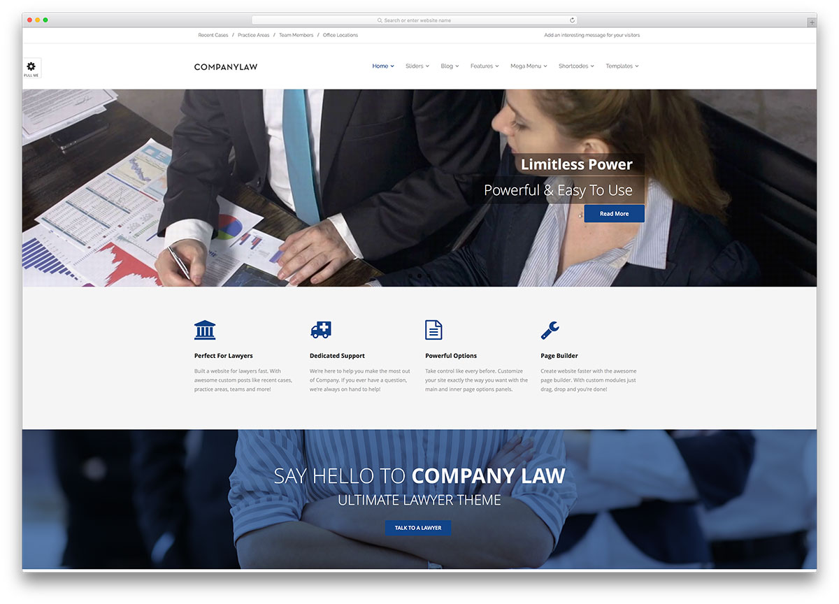 companylaw-creative-lawyer-website-template