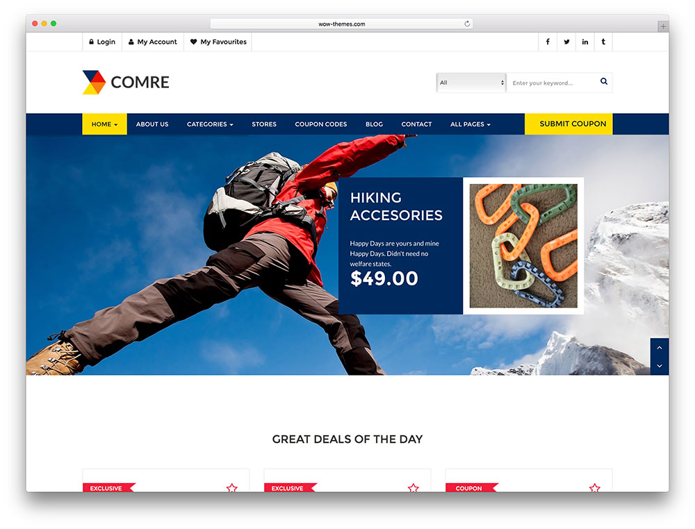 comre - discount listing theme