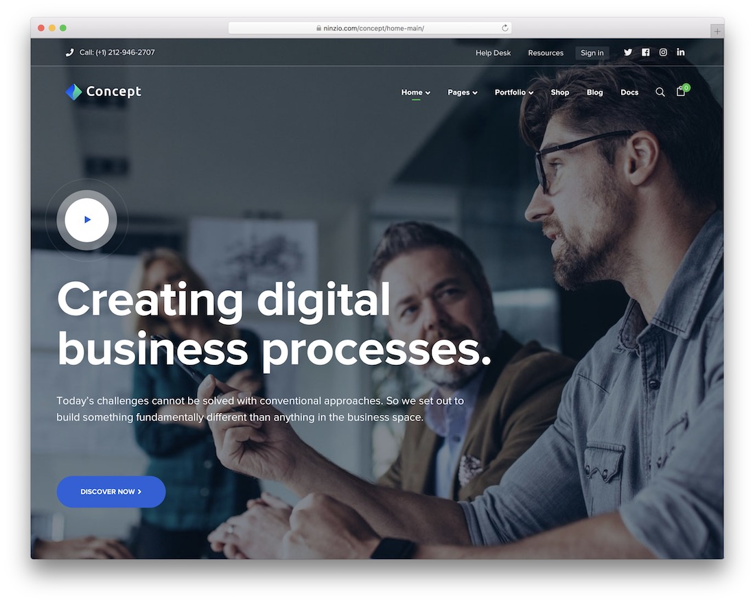 70+ Best Business WordPress Themes 2019 - Colorlib