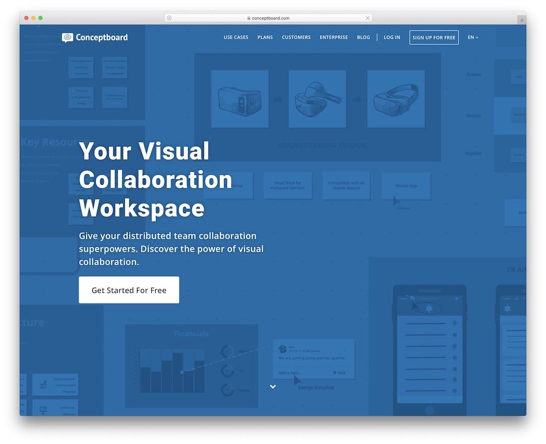 conceptboard productivity tool