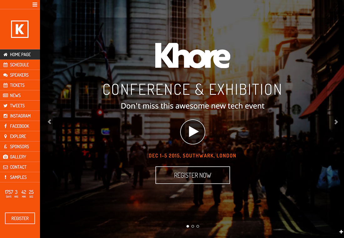 40+ Awesome WordPress Themes For Conference And Event Management 2020