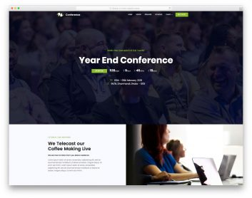 Conference Free Template