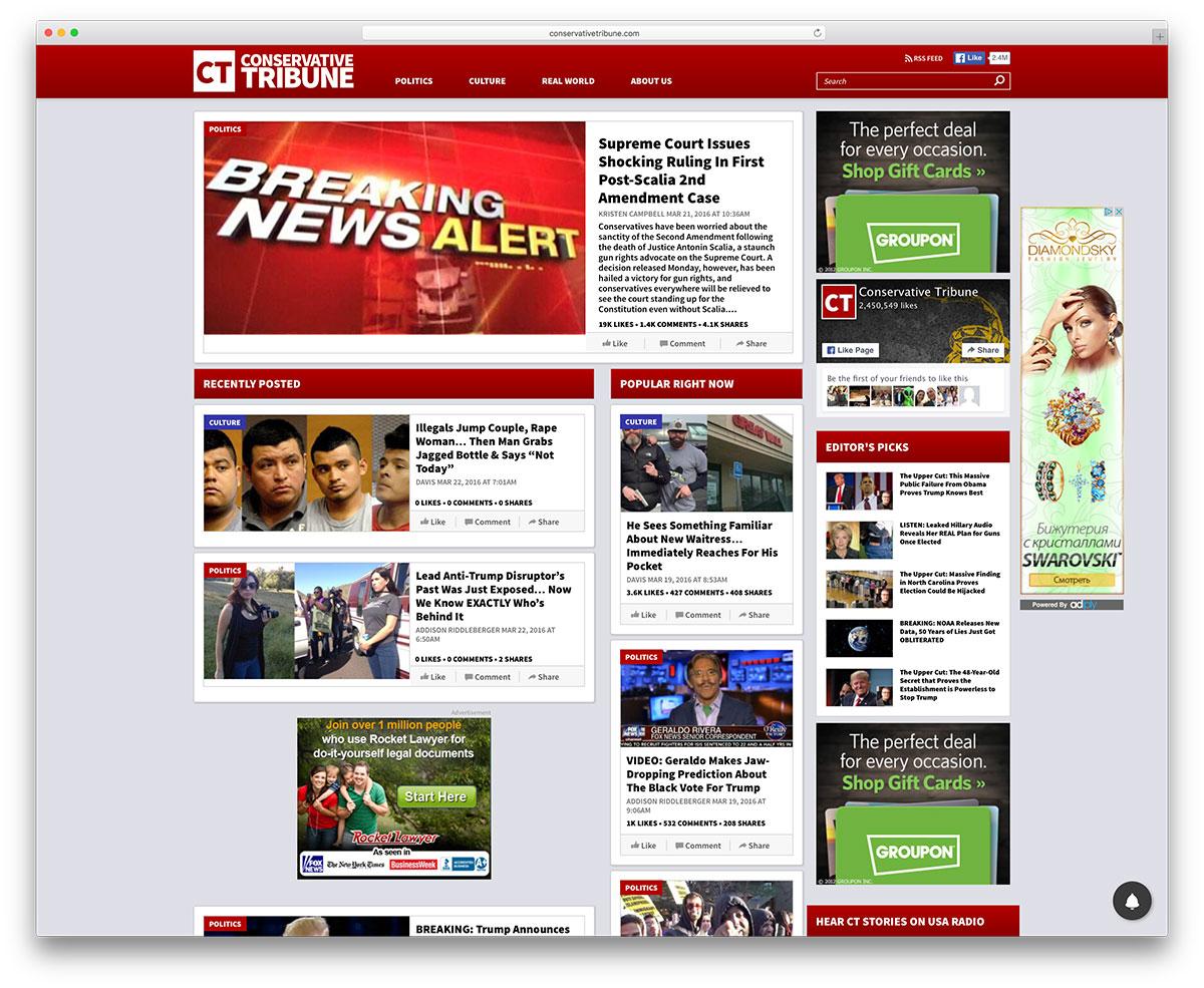 conservativetribune-news-magazine-wordpress-site-example