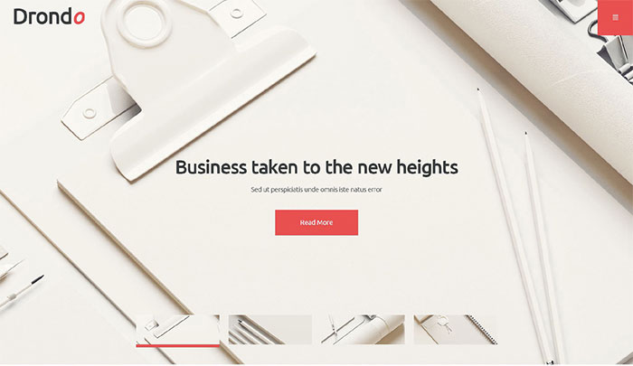 Drondo Corporate WordPress Theme