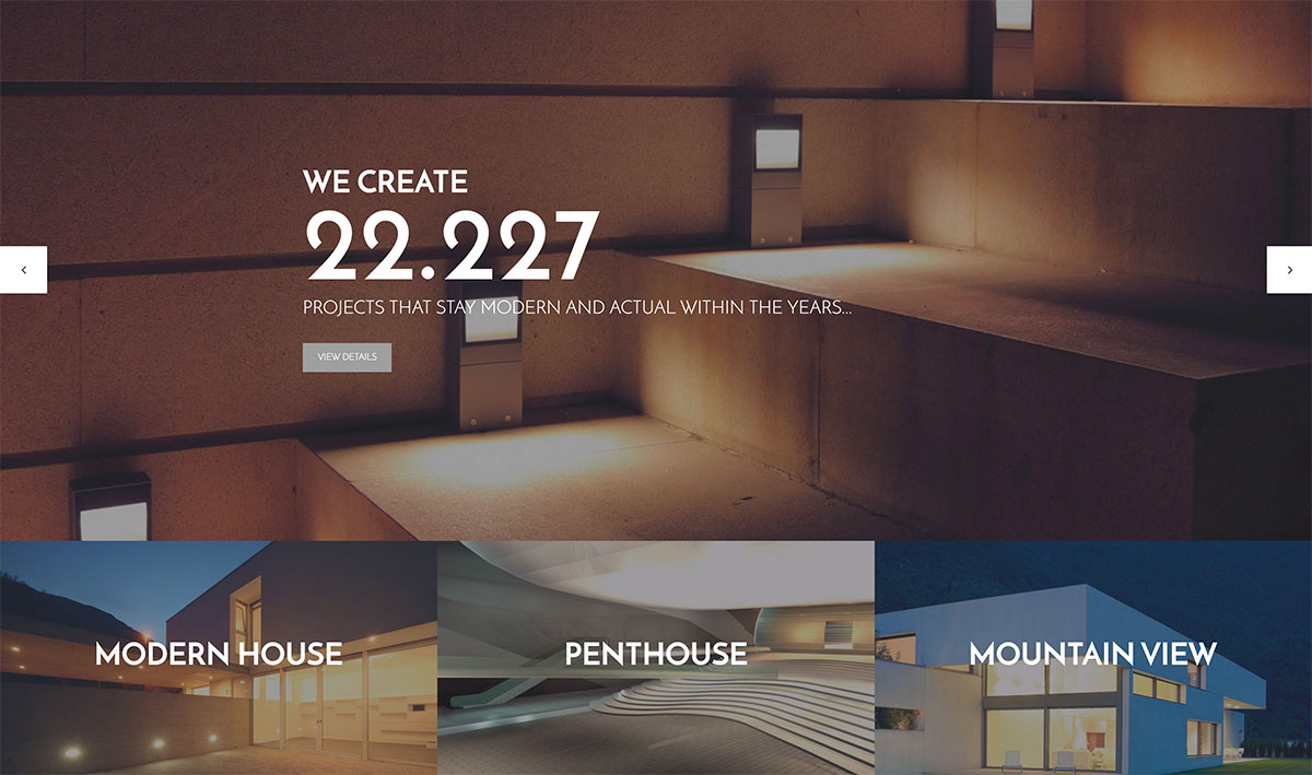 30+ Professional Construction And Architecture WordPress Themes