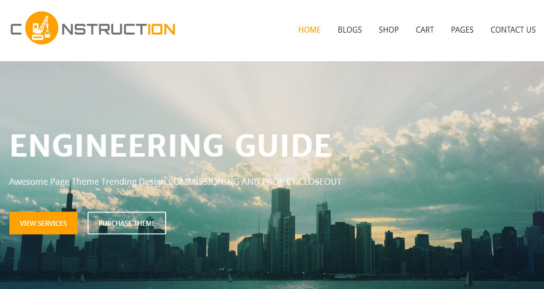 24 Best Free Construction Website Templates To Build A Strong Online Presence