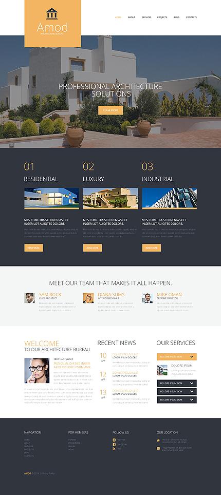 Pro Construction Office WordPress Theme
