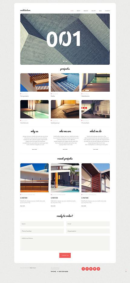 Architecture WordPress Template