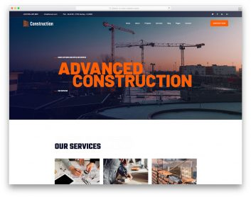 ConstructionCompany Free Template