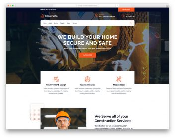 Constructo Free Template